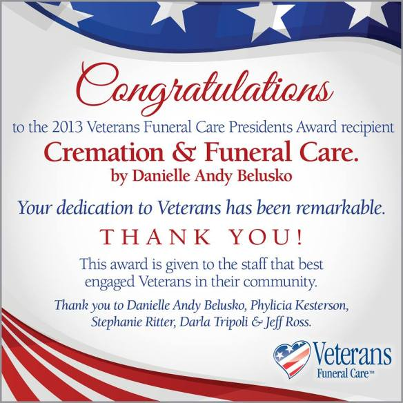 Veterans Funeral Care from Northern Indiana Funeral Care