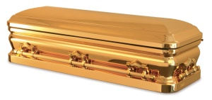 Promethean casket used for Michael Jackson